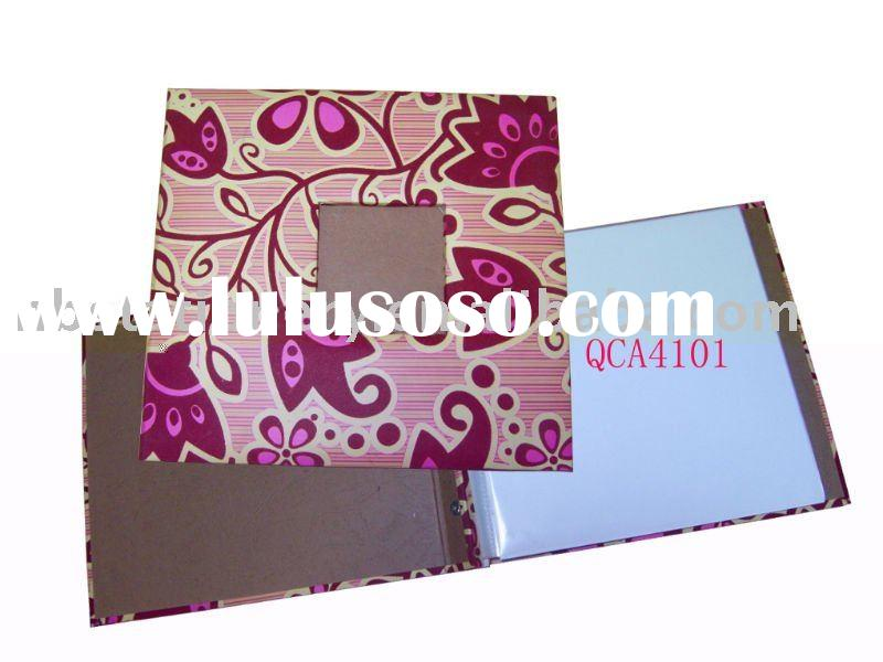 Thread Sewing binding Fabric cover Scrapbook album