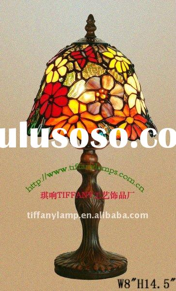 Tiffany Style Table Lamps/handmade glass lampshde