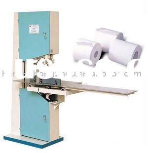 Toilet roll paper cutting machinery