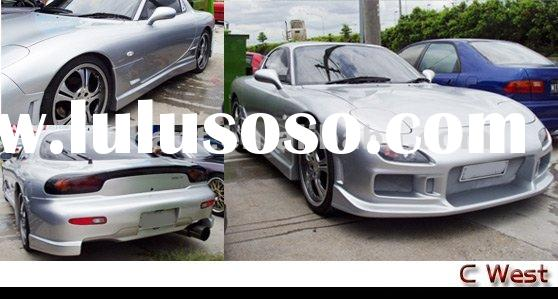 Toyota Supra CWest Style FRP Body Kit Front Bumper Rear Bumper Side Skirt