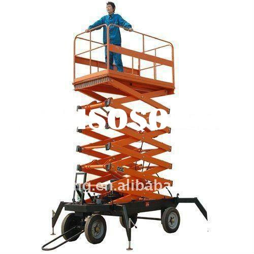 Trailer scissor lift