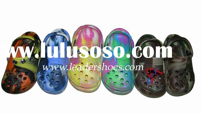 Tye dye clogs with beads