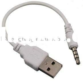 USB CABLE SYNC+CHARGER FOR APPLE iPOD SHUFFLE 2 G MP3