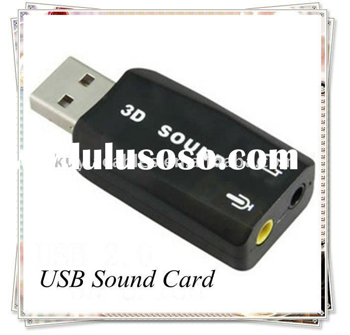 USB SOUND CARD 3D 5.1 AUDIO ADAPTER for PC