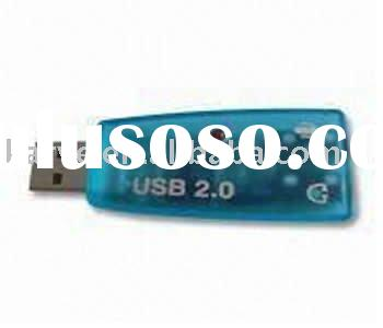USB Sound Card with Virtual 5.1CH Audio Interface