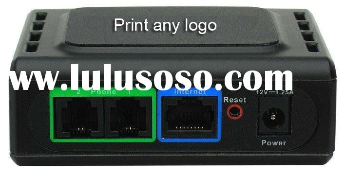 Unlocked 2-Ports SIP Voip Gateway surpass linksys pap2 pap2t