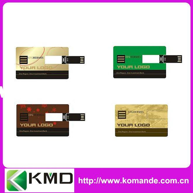 Various types usb credit card with logo