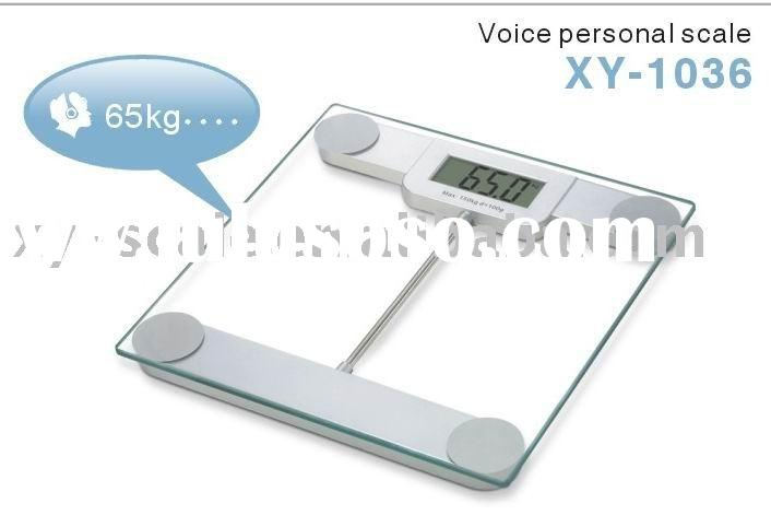 Voice Digital Bathroom scale, body weight scales ( New Items )