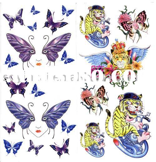 Temporary tattoo inkjet water slide decal paper for sale for Temporary tattoo printer