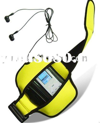 Waterproof Case Skin Dry Bag Pouch with armband earphone for ipod Nano Touch Suffle / MP3