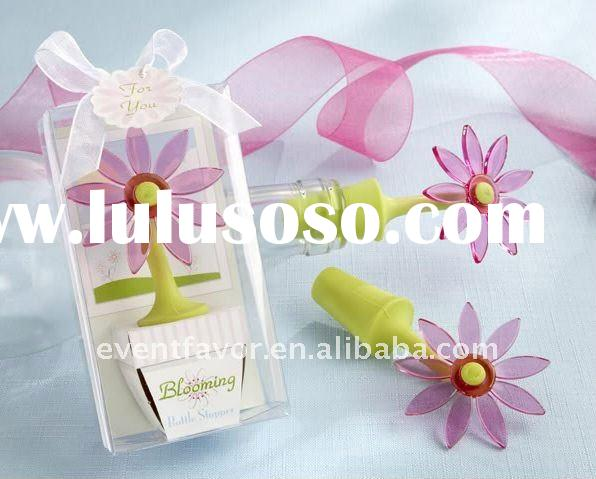 Wedding Gift Blooming Flower Bottle Stoppers (Wedding Favors)