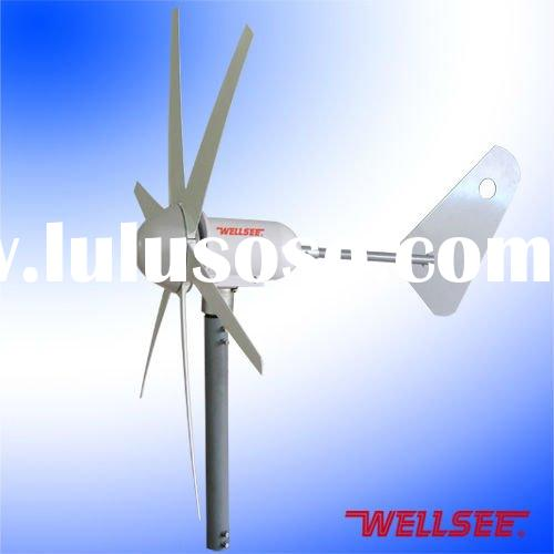 Wellsee wind mill generator (vertical axis small vertical wind turbine) wind generator WS-WT200W
