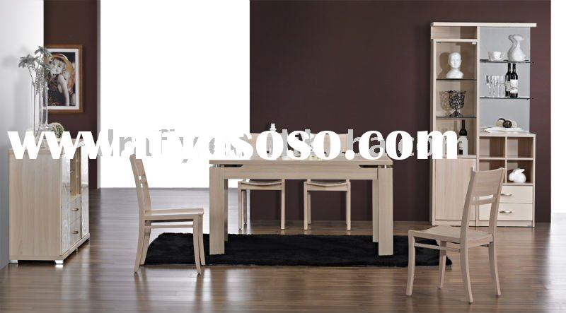 White beech dining room furniture