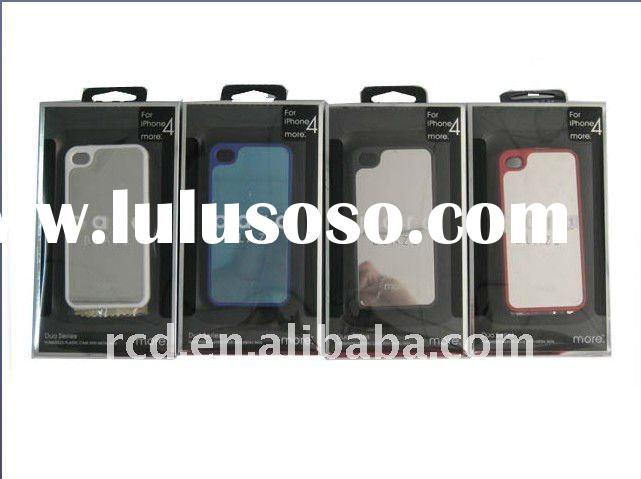 Wholesale PC&Mirror Case for iPhone 4 4G
