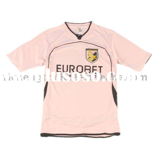 Wholesale Palermo 10/11 Pink Soccer Jersey With Custom Design