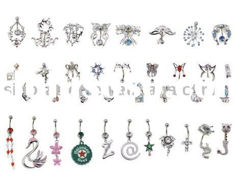 Wholesale Tattoo Body Jewelry,Belly Button Rings,Bars,Earrings