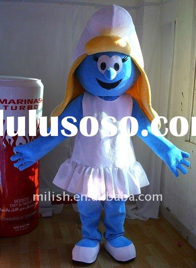 Wholesale factory cartoon Smurfs Mascot costumes MAE-0115