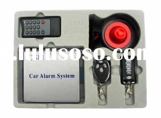 Wireless GSM Car Alarm with Transmitters with code keys(CPA504)