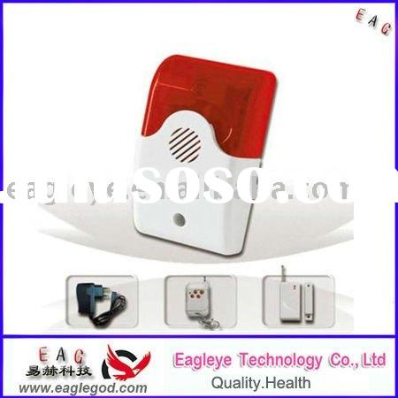Wireless siren with flash alarm system (EAG-007AS)