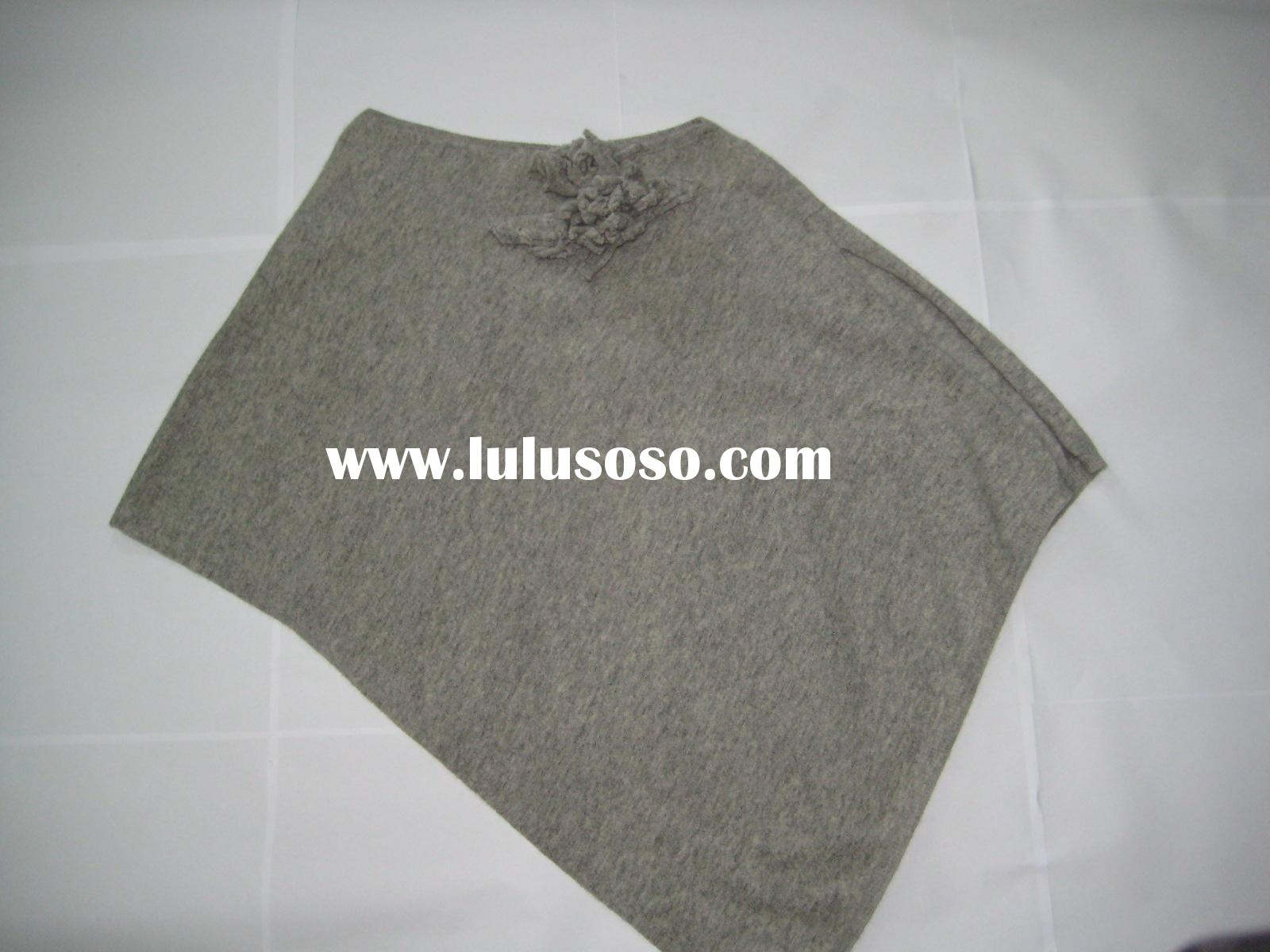 Women's Pullover and Sweater,made of Angora Wool Nylon