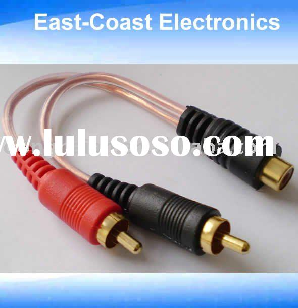 Y cable -RCA audio cable