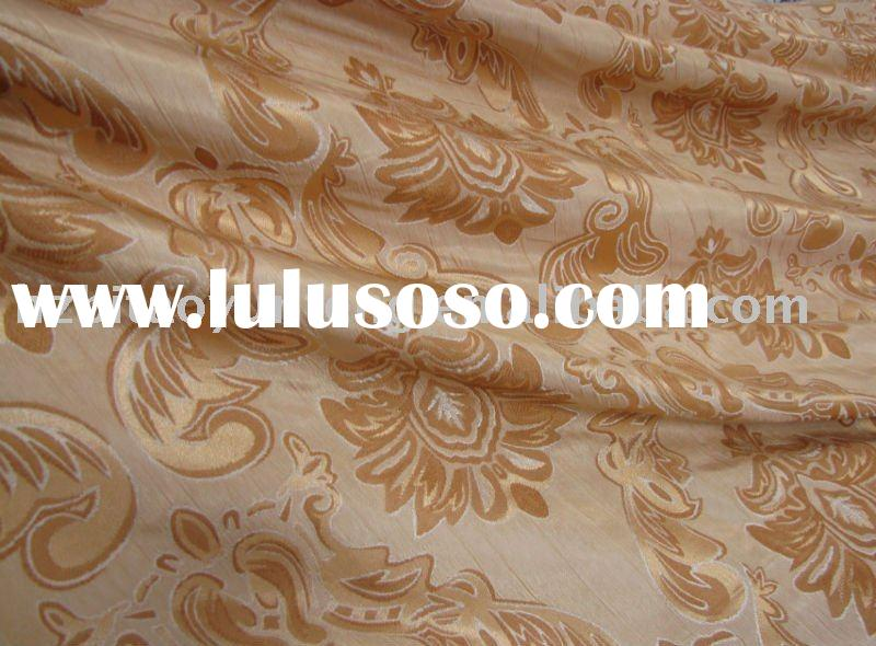 Yarn dyed jacquard curtain fabric new design and UK popular one
