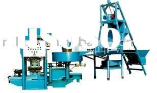 ZWC-III Full Automatic Concrete Roof Tile Making Machine
