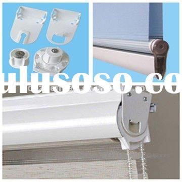 Zebra blind,Double shade components-28mm aluminum curtain track,plastic bead ball chain,roller blind