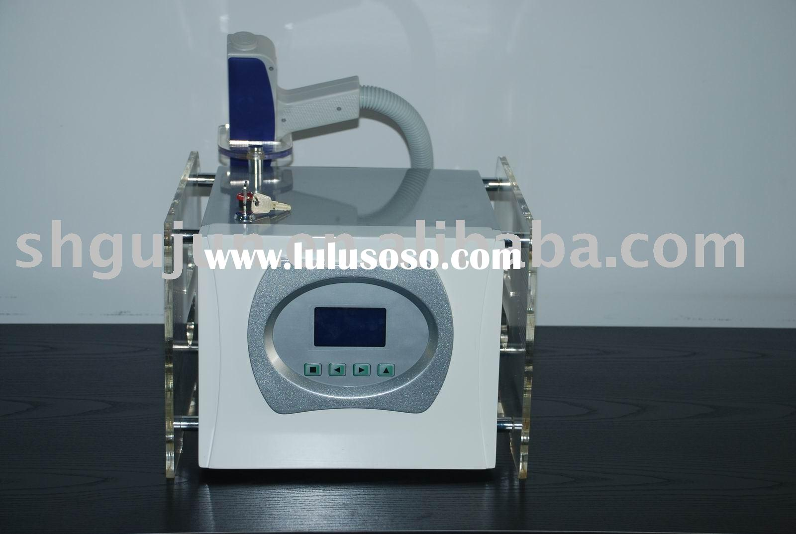 ***Portable Remove Pigment and Tattoo Q-Switched Nd YAG Laser Machine (CE MCE ISO Approved)