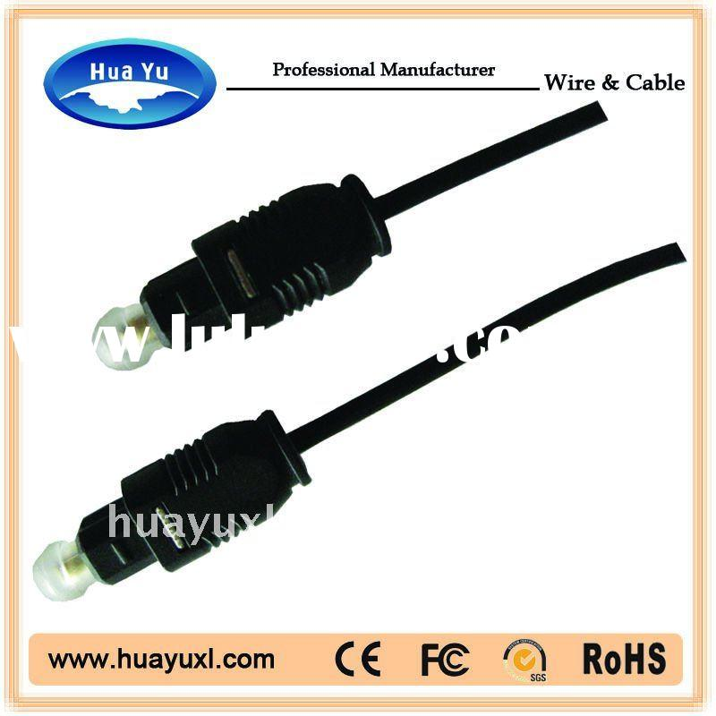 (factory)High quality Audio Optic Toslink Cable