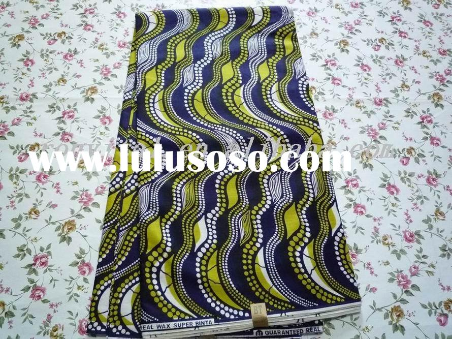 african wax printed wholesale cotton fabirc 011w