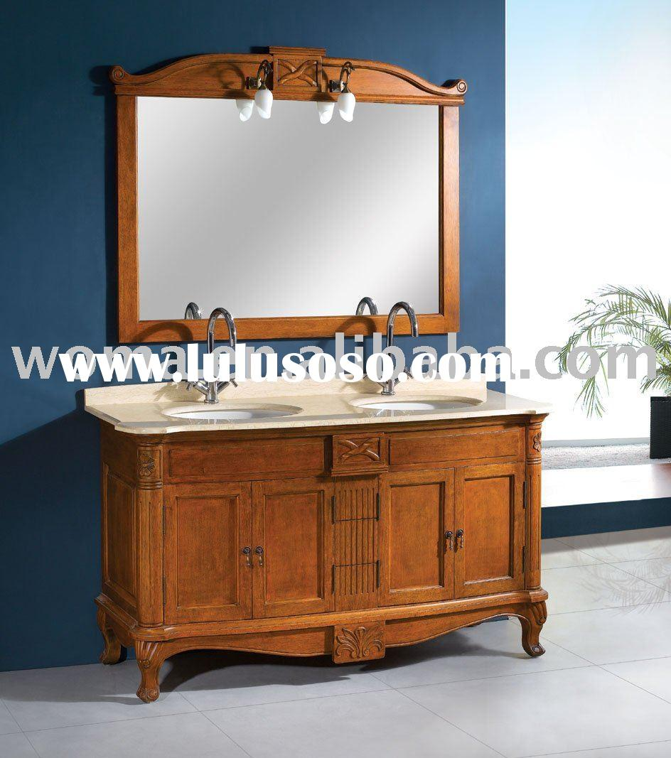 traditional classical antique bathroom vanity cabinet for