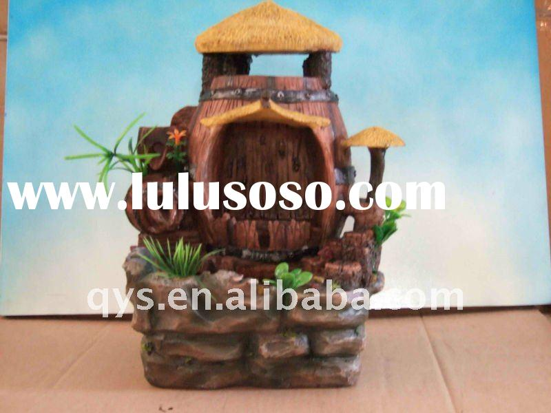 antique resin water fountain decoration