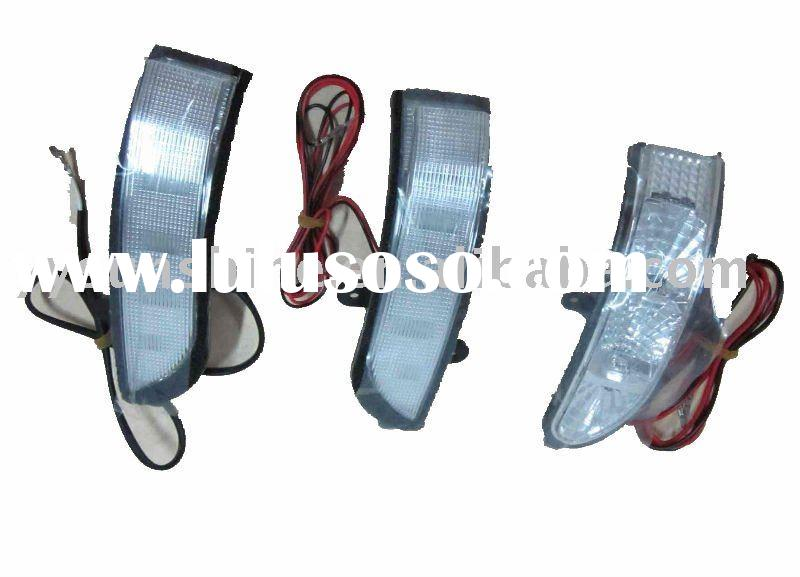 auto led indicator for side-view mirror cover