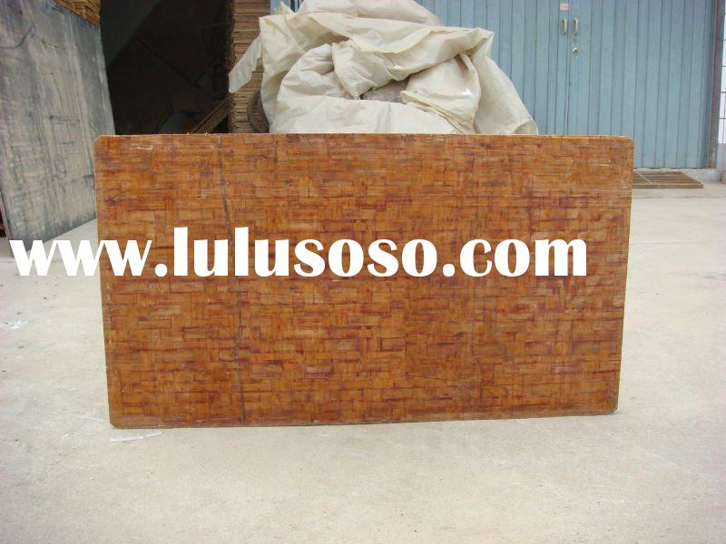 bamboo pallet for block making machine