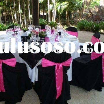 basic polyester chair cover, banquet chair covers, wedding chair covers