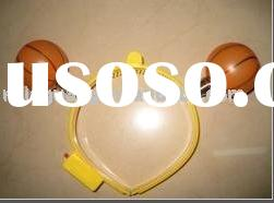 basketball shape led glow head bopper for party supply