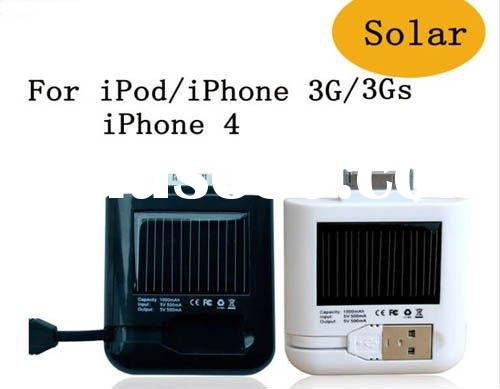 battery charger with USB port for iphone/ipod,portable battery charger