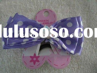 blue butterfly hair extension for promotion