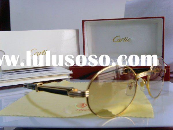 brand sunglasses frame CT 7550178 buffalo horn sunglasses gold with brown lens designer sunglasses a