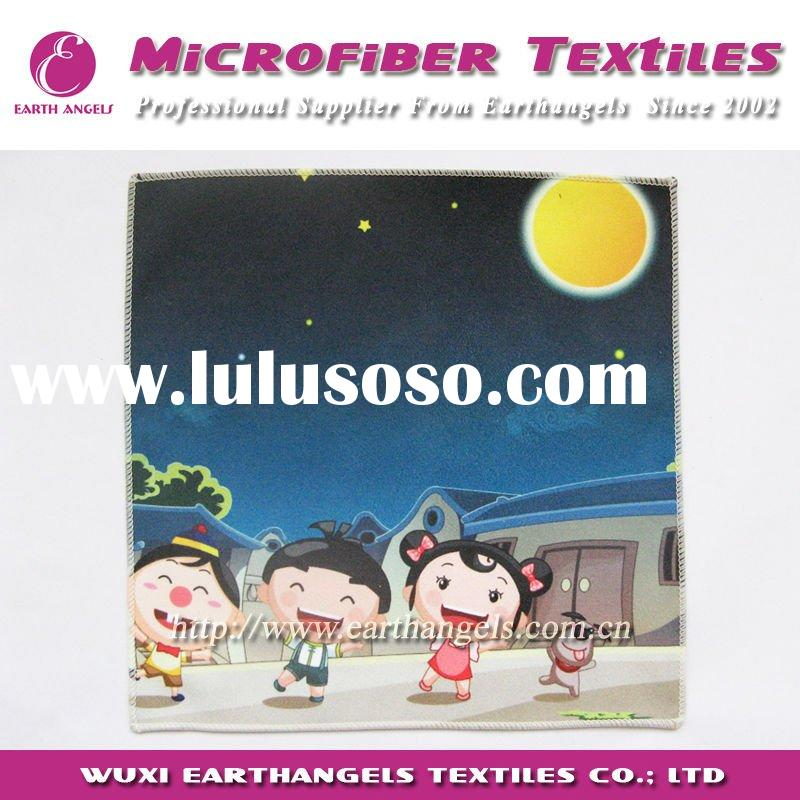 cartoon microfiber towel for children