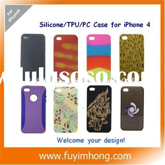 case for iphone 4, HOT hard cover case for Apple iPhone 4