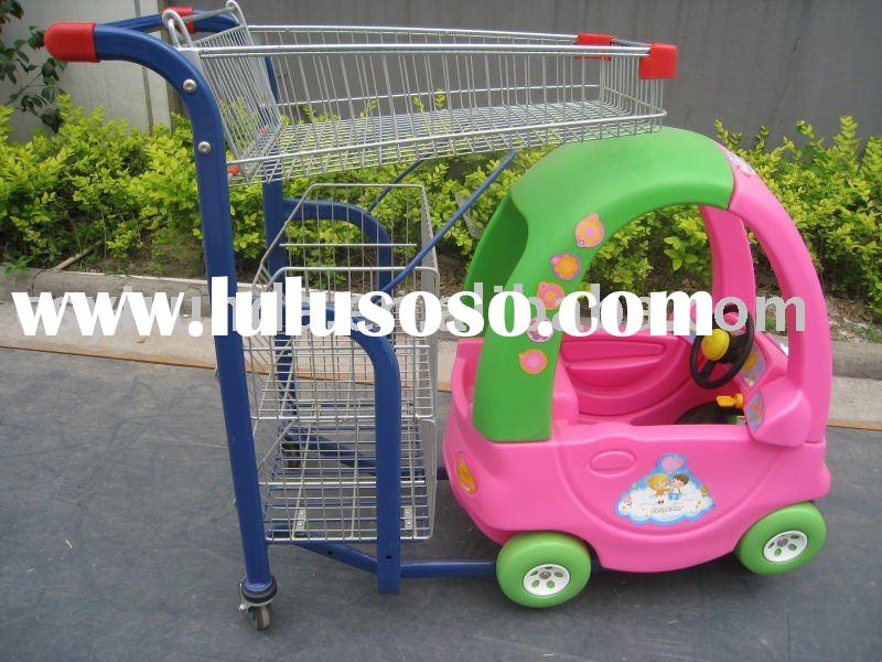 child/kids/baby supermarket shopping trolley toy car