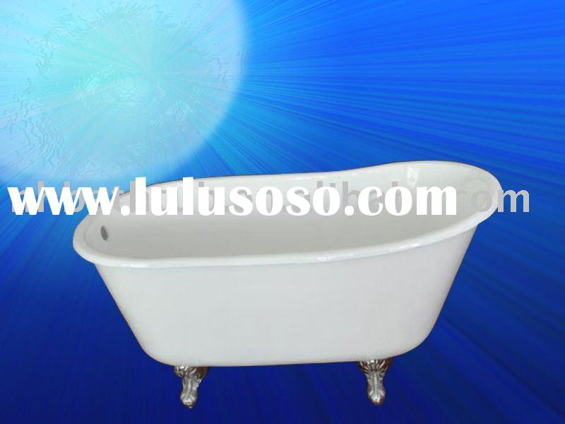 The New Design Colored Clawfoot Slipper Cast Iron Tub Bath For Sale Price C