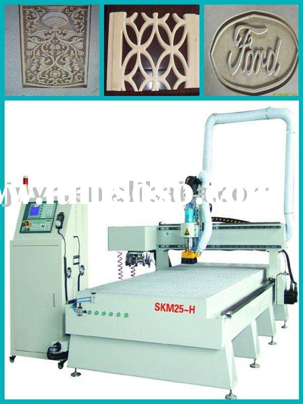 cnc router engraver machine/ wood NC process center/Atuo-tool cahnging system