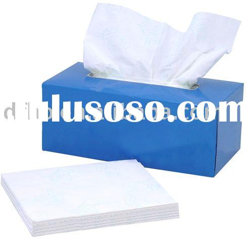 color facial tissue (box tissue,tissue box,paper tissue)