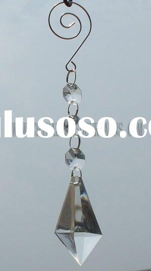 crystal teardrop pendant, acrylic vase crystal, crystal beaded chains