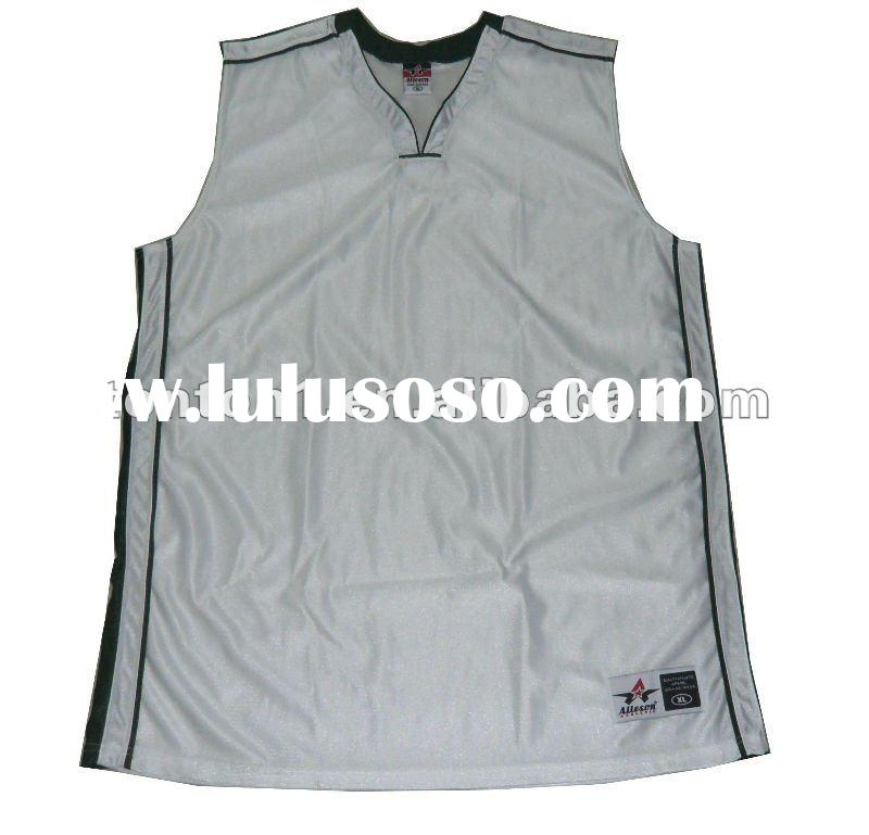 custom blank basketball jerseys design