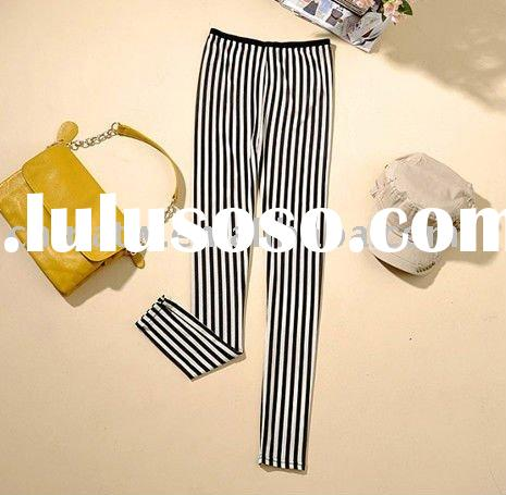 dc1052 EMS free shipping 3 pcs/lot wholesale ,fahsion zebra print cotton lady leggings