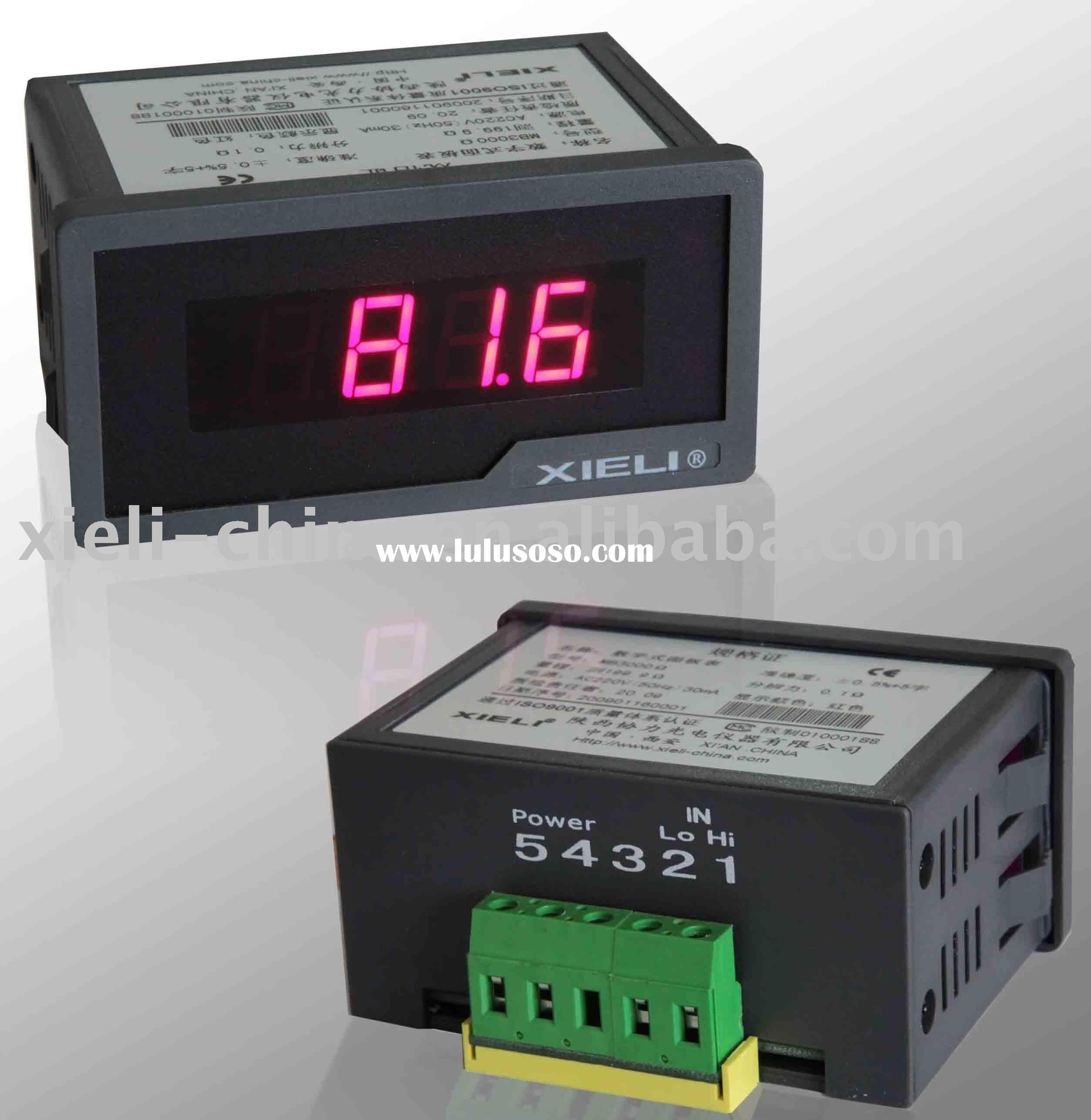 digital voltmeter true-RMS (AC power supply measuring AC)
